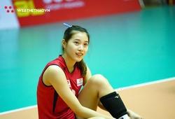 """Ngắm nhan sắc vạn người mê của """"Hot girl"""" Đặng Thu Huyền tại giải bóng chuyền U23"""