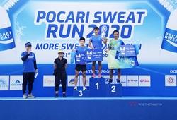 """Kết quả Pocari Sweat Run 2020: Cặp """"gà nòi"""" Bình Phước bảo vệ thành công vị trí số 1"""