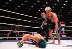 Võ sĩ Nhật Bản knockout cắm đầu đối thủ xuống sàn tại RIZIN 25