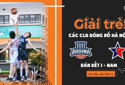 TRỰC TIẾP BK nam Giải trẻ các CLB bóng rổ Hà Nội: Ba Đình vs Scorpius (24/11, 20h30)