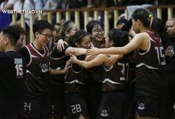 Kết quả BK nữ Giải trẻ các CLB bóng rổ Hà Nội: Dwarf 62-42 Jr.Whales