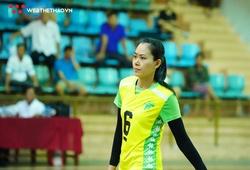 Trần Thị Cẩm Tú khoác áo Truyền hình Vĩnh Long tại vòng 2 giải bóng chuyền VĐQG 2020