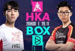Kết quả HKA vs BOX, ngày 5 AIC Liên quân 2020