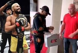 Dana White 'nhận sai', thưởng nóng 50 ngàn đô trực tiếp cho ĐKVĐ UFC Deiveson Figueiredo
