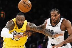 Bóng rổ NBA sẽ trở lại vào ngày 12/12: Lakers đụng độ Clippers ngay từ đầu