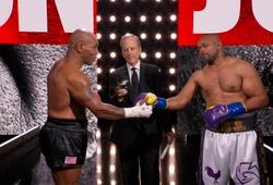 Kết quả Mike Tyson vs Roy Jones Jr: HÒA VUI VẺ
