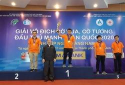 """Vắng Quang Liêm, Đức Hòa """"làm mưa, làm gió"""" giải cờ đấu thủ mạnh toàn quốc 2020"""