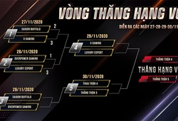 Kết quả vòng thăng hạng VCS Mùa Xuân 2021: OPG xuống hạng, SGB tranh vé vớt