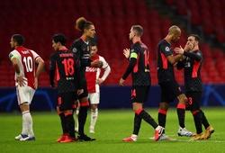 Lịch trực tiếp Bóng đá TV hôm nay 1/12: Liverpool vs Ajax