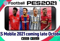 Cách tải PES 2021 Mobile cho Android và IOS mới nhất