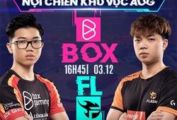Kết quả AIC Liên quân 2020 hôm nay 3/12: FL vs BOX