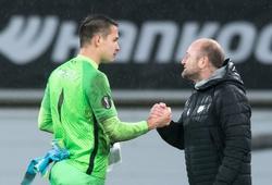 Thắng trận, đội bóng của Filip Nguyễn vẫn bị loại ở Europa League