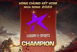 Đội hình Luxury Esports LoL tại VCS Mùa Xuân 2021