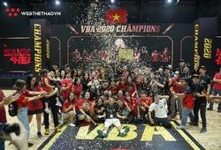 Saigon Heat bảo vệ thành công chức vô địch VBA 2020