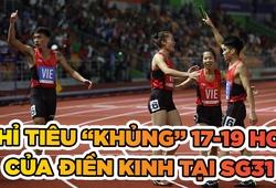 """Điền kinh Việt Nam đặt chỉ tiêu """"khủng"""" cho SEA Games 31"""
