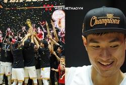 Ăn mừng back-to-back cùng Saigon Heat, Nguyễn Huỳnh Phú Vinh nối dài kỷ lục tại VBA