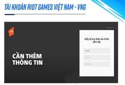 Đăng ký tài khoản Tốc Chiến: Người chơi cần có CMND