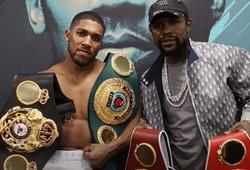 "Anthony Joshua nhận ""chỉ điểm"" từ Floyd Mayweather sau khi knockout Pulev"