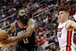 """Miami Heat xem xét trade James Harden, tài năng trẻ Tyler Herro sẽ """"lên thớt""""?"""