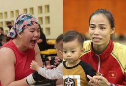 """Hình ảnh xúc động của những """"bà mẹ một con"""" tại giải Vô địch Boxing quốc gia 2020"""