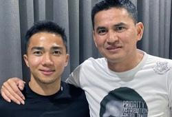 Chanathip Songkrasin chúc Kiatisuk gặp may mắn khi đến HAGL