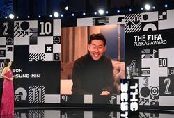 Giải thưởng FIFA Puskas 2020 thuộc về Son Heung-min