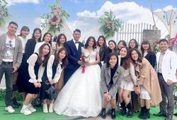 """Sao bóng chuyền """"quậy tung"""" đám cưới chủ công Phạm Thị Hồng Nhung"""