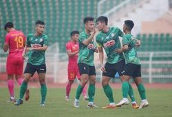 """Chưa """"cần"""" HLV Alex Polking, TP. HCM vẫn thắng nhẹ Sài Gòn FC"""