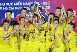 SPL-S3: K. Sài Gòn bảo vệ thành công chức vô địch