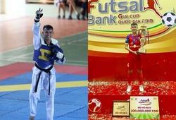 Chuyện lạ: Cầu thủ vô địch futsal giành luôn HCV Taekwondo