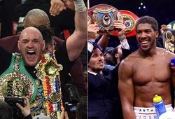 Anthony Joshua và Tyson Fury đồng ý thượng đài năm 2021