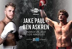 Ben Askren công bố thượng đài với Jake Paul vào 28 tháng 3