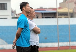 Trợ lý HLV Quốc Vượng chia tay CLB Hải Phòng