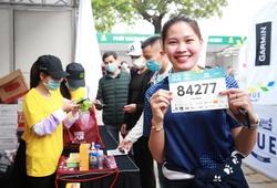 Người đẹp vô địch 800m SEA Games 30 Đinh Thị Bích thử sức chạy 21km tại Huế