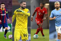 Messi trong Top 10 cầu thủ có thể ra đi tự do trong năm mới 2021