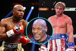 """Mike Tyson: """"Floyd Mayweather sẽ cho Logan Paul một trận nên thân"""""""