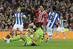 Kết quả Athletic Bilbao vs Real Sociedad, video bóng đá Tây Ban Nha hôm nay 31/12
