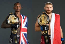 Israel Adesanya lên hạng, tranh đai bán nặng với Jan Blachowicz tại UFC 259