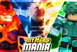 Code My Hero Mania Roblox: Cách nhận và nhập code chi tiết
