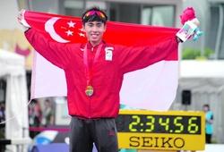 """Quán quân marathon đánh bại """"Vua leo núi"""" Hoàng Nguyên Thanh có thể dự SEA Games 31"""
