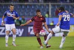 Nhận định AS Roma vs Sampdoria, 21h00 ngày 03/01, VĐQG Italia