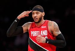 Carmelo Anthony vượt huyền thoại Tim Duncan, nhắm đến top 10 tay ghi điểm mọi thời đại
