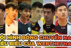 Đội hình tiêu biểu của bóng chuyền nam Việt Nam do Webthethao bình chọn