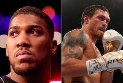 """Để đấu Tyson Fury, Anthony Joshua sẵn sàng """"nhờ cậy"""" Oleksandr Usyk"""