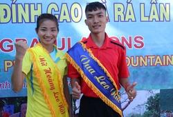 """Nguyễn Thị Oanh, Hoàng Nguyên Thanh bảo vệ thành công danh hiệu """"Nữ hoàng - Vua leo núi Bà Rá"""""""