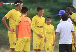 Danh sách cầu thủ, đội hình SLNA đá V.League 2021