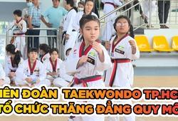 Quy mô choáng ngợp của kỳ thi thăng đẳng môn Taekwondo TP.HCM lần 2 năm 2020