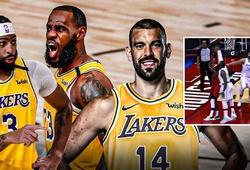 LeBron James, Anthony Davis, Marc Gasol hợp lực block lùn người John Wall