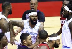 Căng thẳng giữa Rockets và Lakers: Markieff Morris và DeMarcus Cousins bị đuổi khỏi sân