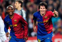 Eto'o chọn người thừa kế vị trí của Messi tại Barca